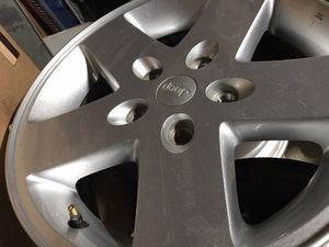 Almost perfect set of 5 stock Jeep wheels for Sale in Tacoma, WA