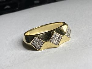 Very nice 14KT Gold Diamond Ring size 6.5-7 for Sale in Miami, FL