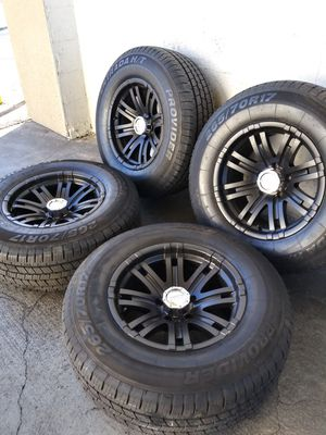 Off road rims with new tires for Sale in Las Vegas, NV