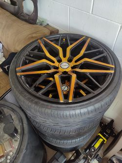 20 x 9 Shift Racing Wheels for Sale in Kissimmee,  FL