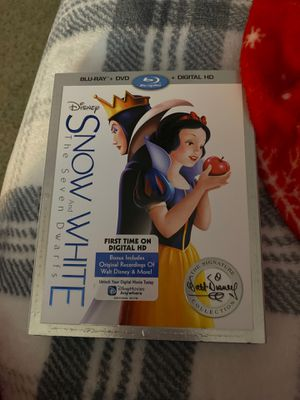 Snow White DVD AND BLU-RAY for Sale in Carrollton, TX