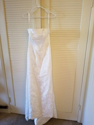 Gorgeous Wedding Dress Size 10 for Sale in Fountain Valley, CA