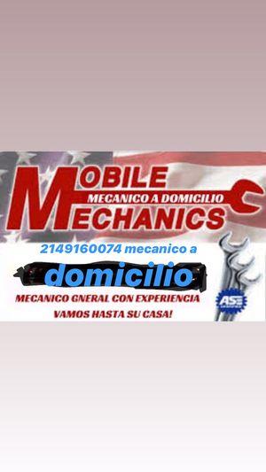 Mecanico for Sale in Dallas, TX