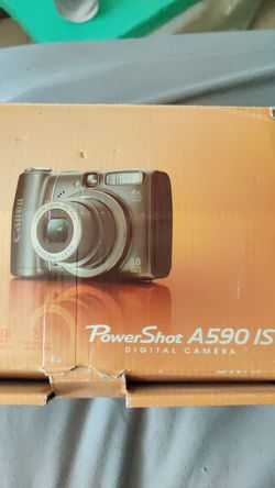 Canon A590 Digital camera. 8.1 megapixels and 4X optical zoom. for Sale in Cape Coral,  FL