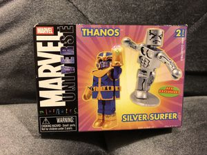 "Minimates MARVEL EXCLUSIVE ""THANOS and SILVER SURFER"" for Sale in Fresno, CA"