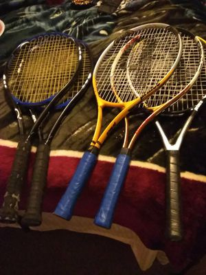 2 sets of prince tennis rackets and another prince tennis racket for Sale in Albuquerque, NM