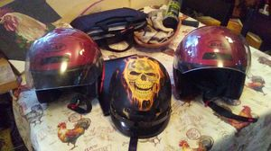 Bolt motorcycle helmets size small new. Skull helmet size small. for Sale in Milton, FL