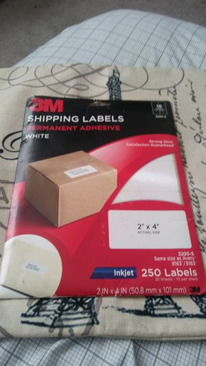 3M SHIPPING LABELS for Sale in Creve Coeur, IL
