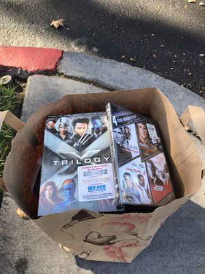 Full of bag DVD some of them even not open yet. for Sale in Pleasant Hill, CA