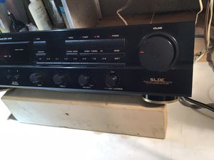 Vintage Denon Dra-345 R Audio Am/fm Stereo Receiver with manual. for Sale in Potomac Falls, VA