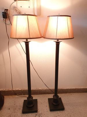 2 Bronze Floor Lamp for Sale in Artesia, CA