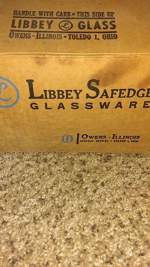 Antique Libbey glassware champagne glasses for Sale in Tucson, AZ