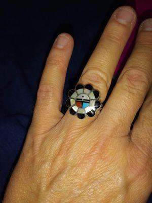 Zuni silver ring for Sale in Carol Stream, IL