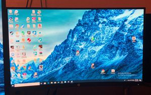 "HP 27"" Curved Computer Monitor for Sale in Houston, TX"