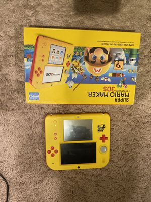 mario maker 2ds great condition comes with charger no game for Sale in Seattle, WA