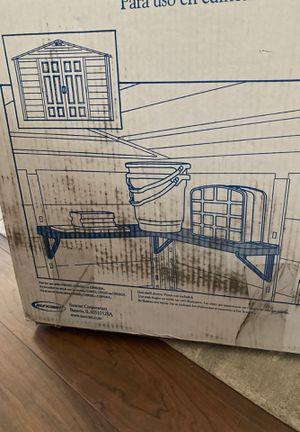 Suncast Shed corner shelves for Sale in Westchester, IL