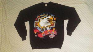 vintage 1980s Jerzees Born In The Usa Harley Davidson Sweatshirt Size XL for Sale in Alpena, MI