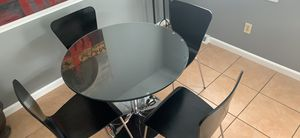 Dining table and chairs for Sale in Pawtucket, RI