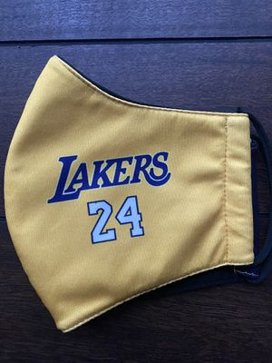 LAKERS FACE MASK KOBE AND GIANNA STOCKING STUFFERS for Sale in Costa Mesa, CA