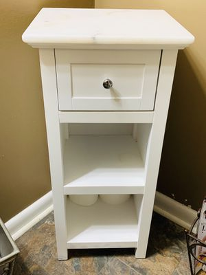 Bathroom cabinet with marble top for Sale in Goldsboro, NC