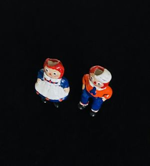 Vintage Raggedy Ann & Andy Candle Holder for Sale in Dubuque, IA
