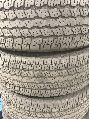 265/70R16 Kevlar Goodyear's for Sale in Brier, WA