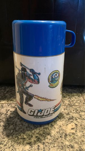1989 Gi Joe lunch box thermos vintage for Sale in Gilbert, AZ