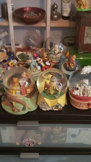 Disney snow globes for Sale in Portland, OR