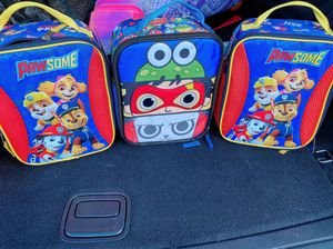 Brand new lunch bags for kids I have paw patrol & Ryan toy review each for $7 for Sale in Los Angeles, CA