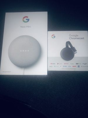 Google Nest Mini & Google Chromecast for Sale in Irvine, CA