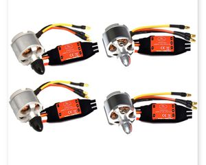 4x2212 920kv quadcopter brushless motor (central/cow) + 4xSimonk 30A ESC for Drone zmr250 quadrocopter QAv250 Multicopter for Sale in Bakersfield, CA