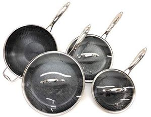 Hexclad 7pc Set Pans for Sale in Topanga, CA