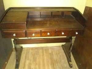 Antique office desk for Sale in Wichita, KS