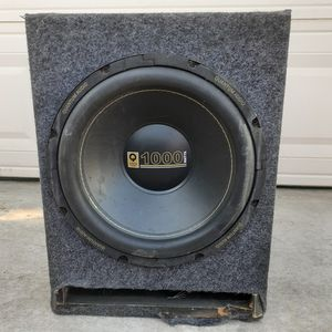 1000 watt speaker quantum audio for Sale in Manteca, CA