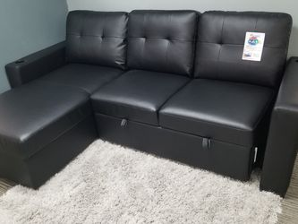 ♦️LEATHER SLEEPER SECTIONAL for Sale in Dallas,  TX