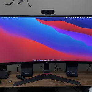 LG 34UC79G-B LG 34-Inch 21:9 Curved UltraWide IPS Gaming Monitor with 144Hz Refresh Rate for Sale in Laguna Hills, CA