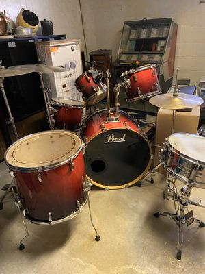 Pearl drum set for Sale in Bethpage, NY