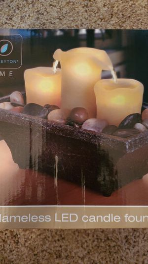 Flameless LED Candle Fountain for Sale in Lewisville, TX