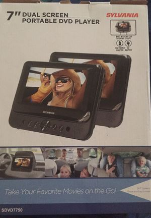 "7"" Dual Screen Portable DVD Player for Sale in Kissimmee, FL"