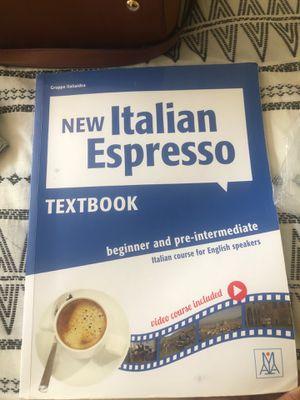 New Italian Espresso- Textbook beginner and pre intermediate for Sale in Chula Vista, CA