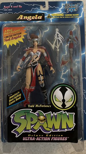 * Spawn Angela Action Figure Rare Limited Edition RED Angela Mail Away 1995 MOC for Sale in Orange, CA