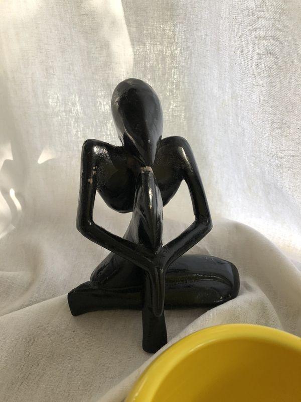 Vintage Mid Century Metal Figurines