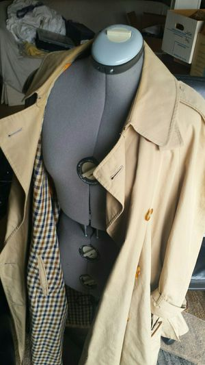 Aquascutum Double Breasted Trench Coat Size 55 (XXL US) for Sale in Fairfax, VA