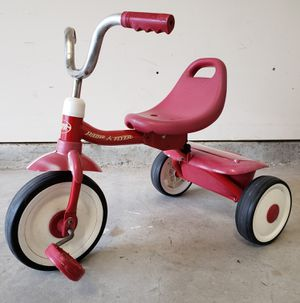 Radio Flyer Classic Red Folding Tricycle - RED*Garage Sale* for Sale in Houston, TX