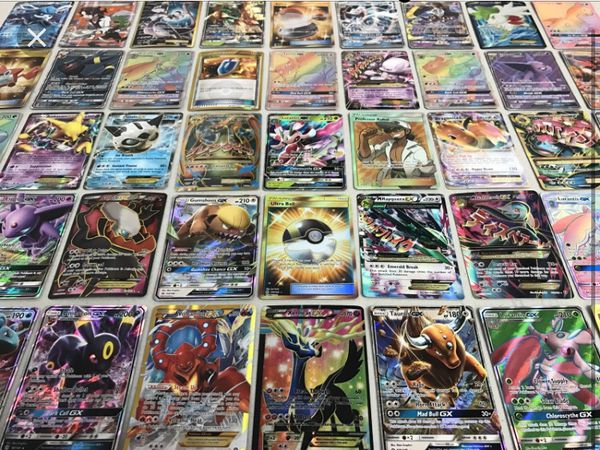 Pokemon cards Ex Gx Holo Rare 1000 Of Cards for sell