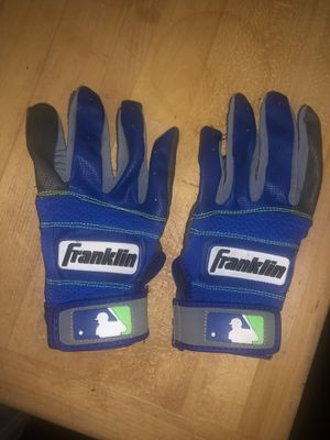 Franklin Youth baseball batting gloves. Size youth large. Excellent condition. Like new. No stains...no rips. for Sale in La Puente, CA
