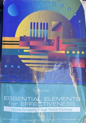 Essential elements for effectiveness for Sale in Miami, FL