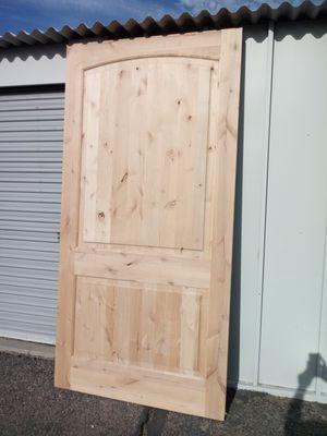 Barn door 48x96 knotty alder solid wood for Sale in Phoenix, AZ