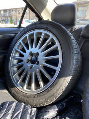 17 inch Volvo original rims for Sale in Prospect Heights, IL