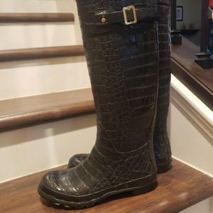 Womens Rain Boots Size 8 Used Gently for Sale in Garden Grove, CA